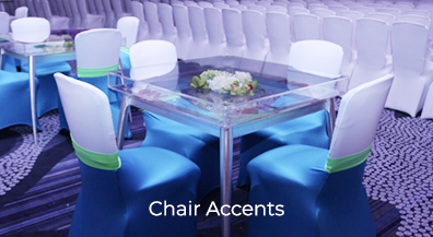Chair Covers & Accents