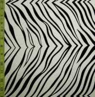 Animal Print Zebra Spandex Covers 1057-OW