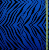 Animal Print Zebra Spandex Covers 1057-Royal