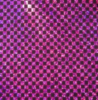 Hologram Checkerboard Spandex Covers H-1797