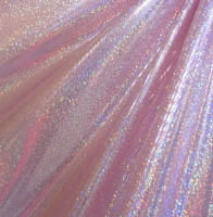 Hologram Holographic Foil Dot Spandex Covers H-656