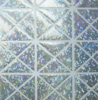 Hologram Shattered Glass Spandex Covers H-2000