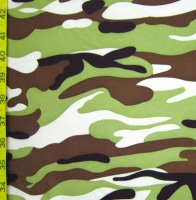 Printed Camouflage Spandex Covers DS-43332