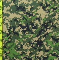 Printed Camouflage Spandex Covers PS-5872