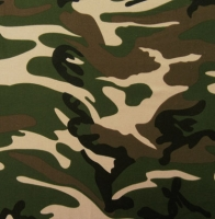 Printed Camouflage Spandex Covers PS-6474