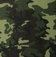 Printed Camouflage Spandex Covers PSF-6967