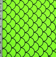 Printed Fishscale Spandex Covers PS-4191