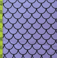Printed Fishscale Spandex Covers PS-5901