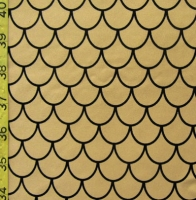Printed Fishscale Spandex Covers PS-5902