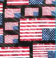 Printed Flag Spandex Covers PST-7037