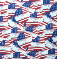 Printed Flag Spandex Covers PSF-7232