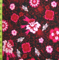 Printed Floral Spandex Covers PS-3731