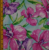 Printed Floral Spandex Covers PS-6424