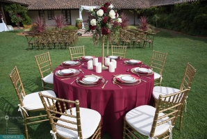 Table Covers Napkins Burgundy Round Min