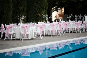 Table Covers Napkins Wedding Reception Min