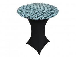 Flower Chain Lace Table Topper